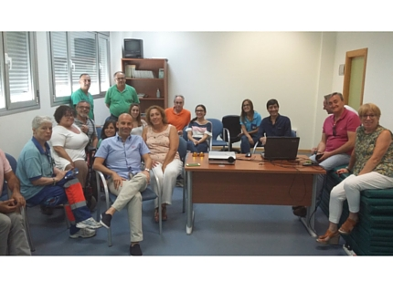 Los profesionales de la UGC de Algarrobo se forman en los Efectos Tardíos de la Polio