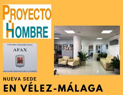 El Área Sanitaria Axarquía participa en la inauguración de la nueva sede de Proyecto Hombre en Vélez-Málaga