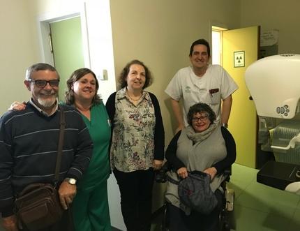 La Comisión de Accesibilidad del Área Sanitaria Málaga-Axarquía establece las líneas de trabajo para 2018