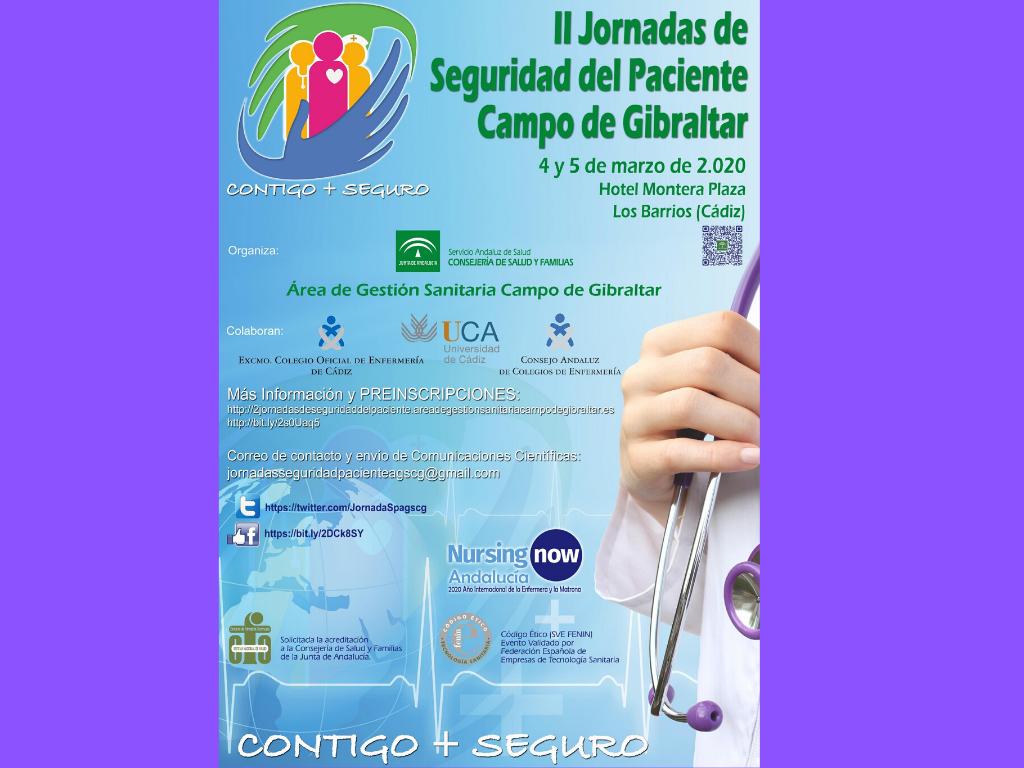 II Jornadas de Seguridad del Paciente Campo de Gibraltar