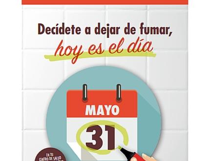 Día Mundial sin Tabaco y Semana sin Humo 2016