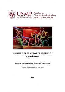 MANUAL DE REDACCIÓN DE ARTÍCULOS CIENTÍFICOS