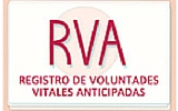 Registo de Voluntades Vitales Anticipadas RVA