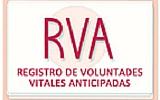 Registo de Voluntades Vitales Anticipadas RVA