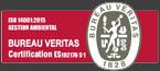 ISO 14001:2015 Gestión Ambiental BUREAU VERITAS Certification ES102176-S-1. Avala la calidad del sistema integrado de Gestion Ambiental del Hospital Reina Sofia