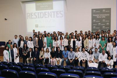 Foto de grupo de residentes