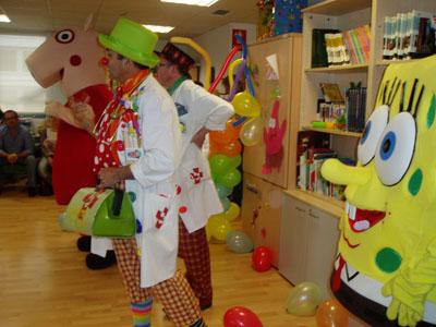 Fiesta infantil: Médicos de la risa