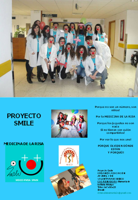 Voluntarios Proyecto Smile