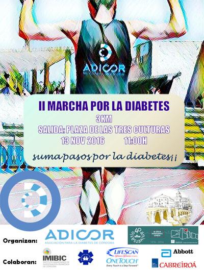 II Marcha por la Diabetes. Suma pasos por la diabetes!!