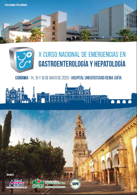 X Curso Nacional de Emergencia en Gastroenterología y Hepatología