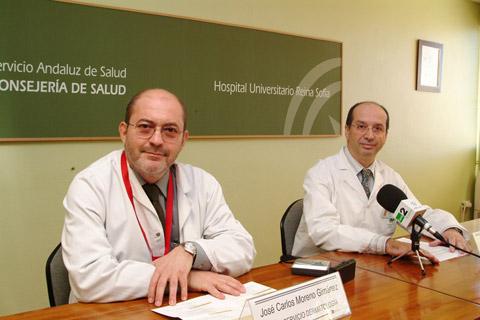 Jefe de Servicio de Dermatología y el Subdirector Médico