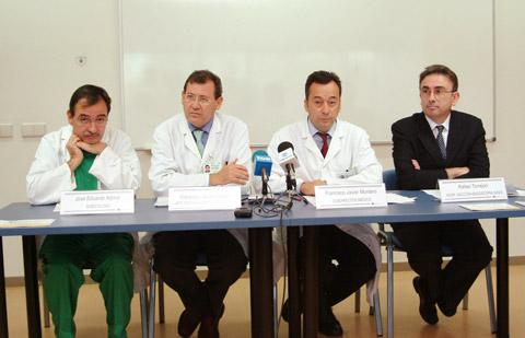 Reunión de ginecólogos andaluces en el hospital