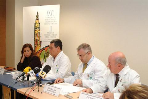 El dr. Martín durante su intervención