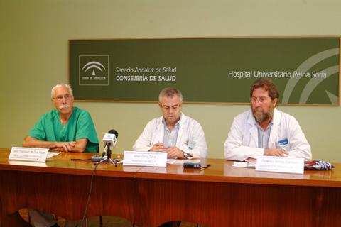 Responsables de la UGC de Digestivo durante el seminario