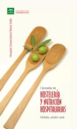 Cartel de la I Jornada de Hosteleria y Nutrición Hospitalarias