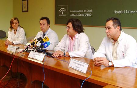 Facultativos de radiodiagnóstico, oncología médica y radioterápica en la presentación de la jornada