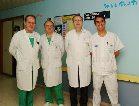 Profesionales de la Unidad de Ortopedia y Traumatología Infantil