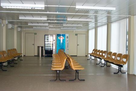 Aspecto de la sala de espera de urgencias