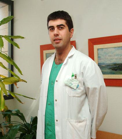 El médico interno residente en formación del complejo hospitalario José María Dueñas