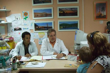 Consulta de inmunología pediátrica