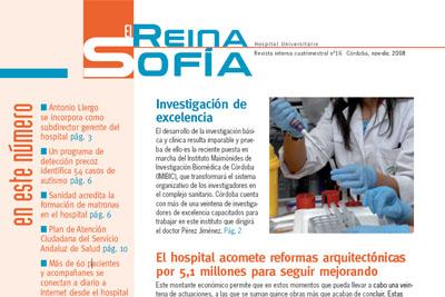 Portada del nº 16 de la Revista 'El Reina Sofía'