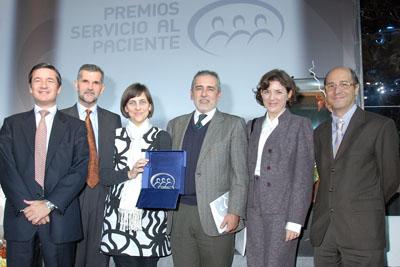 Entrega del premio a las Mejores Iniciativas de Servicio al paciente
