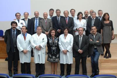 Los profesionales del equipo de trasplante hepático participan en este aniversario.
