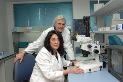 La Dra. Herrera y el Dr. Suarez de Lezo