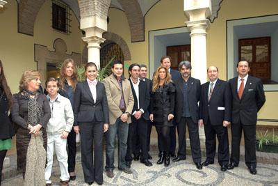 Acto de reconocimiento de la Junta de Andalucía a la Unidad de Promoción por la difusión de la donación de órganos