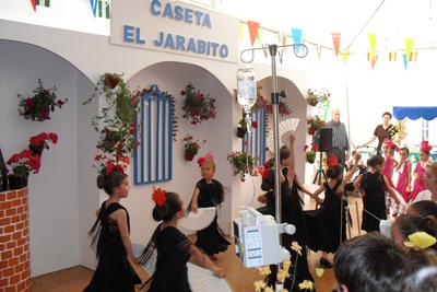 Actuación en la Caseta El Jarabito