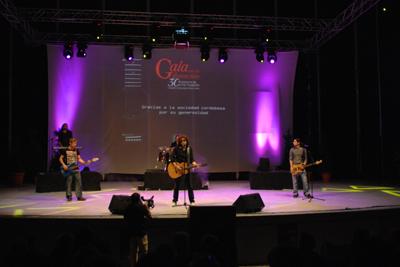 Actuación de Maikel de la Riva