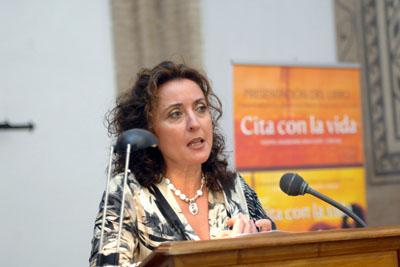 La delegada de Salud, María Isabel Baena.