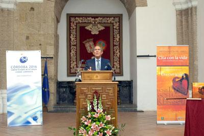 Antonio Gala durante su intervención.