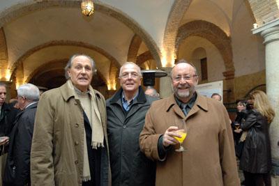 Los doctores Pera, Moreno y Torres.