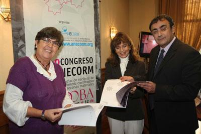 Los organizadores del congreso.