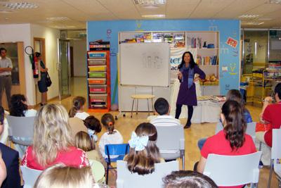 Actividades realizadas con motivo del Día del Libro para fomentar la lectura