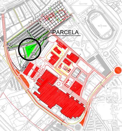 Ubicación de la parcela que acogerá la futura guardería.