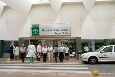 Imagen de las dependencias externas del hospital