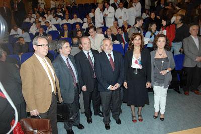 El director nacional de trasplantes y la consejera de Salud, entre otras autoridades, asistieron al acto
