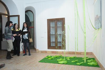 Obra de Marisa Vadillo, comisaria de la muestra.