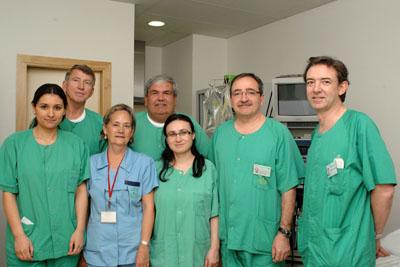 Profesionales del Hospital Reina Sofía y otros centros que aplican la técnica Essure