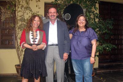 Pilar Távora, Bibián Ortega y María Eugenía Vilchez