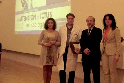 La delegada de Salud, María Isabel Baena, inauguró el encuentro