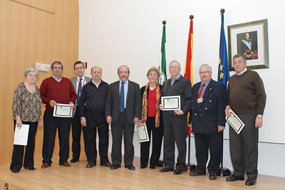 Profesionales jubilados pertenecientes a la Dirección de Servicios Generales