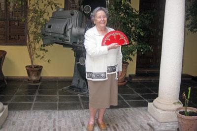 María Galiana en la Filmoteca de Andalucía