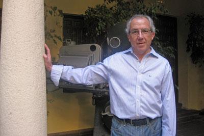 El profesor de Historia del Cine y estudioso de la obra de Pedro Almodóvar, Pedro Poyato