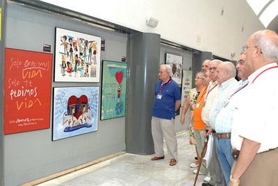 Observan la exposición que se podrá visitar hasta el 10 de octubre