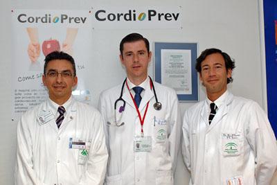 Los doctores López Miranda, García Ríos y Pérez Martínez.