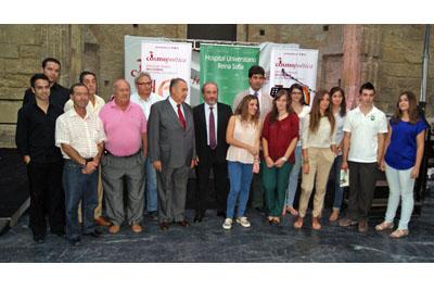 Participantes en el acto de Cosmopoetica, Tintas para la vida IV