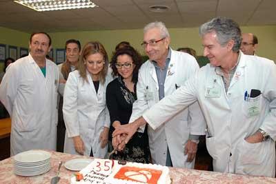 Responsables y profesionales sanitarios celebran los 35 años de trasplantes